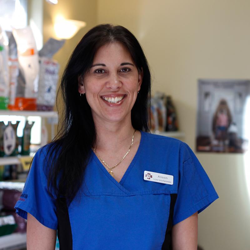 Alison Marble Customer Service at Vetcetera animal hospital and veterinarian in Bedford Halifax Nova Scotia